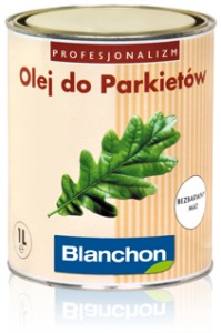 Olej do parkietu Blanchon